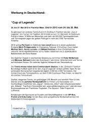 Pdf Cup of Legends 2012 und Ausblick 2013 - Ever-Court GmbH ...