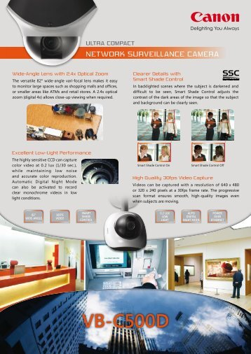 VB-C500D - Everbest Technologies Ltd.