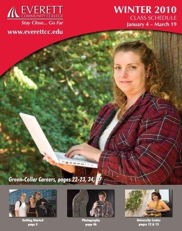 WINTER 2010 - Everett Community College