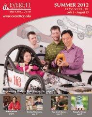 summer 2012 credit courses - Everett Community College