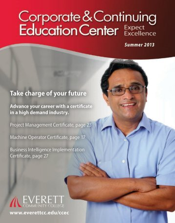 Take charge of your future - Everett Community College