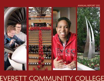 Annual Report 2012 - Everett Community College