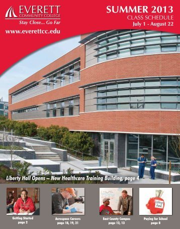 SUMMER 2013 - Everett Community College