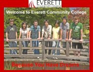 Because You Have Dreams - Everett Community College