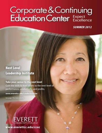 Next Level Leadership Institute - Everett Community College
