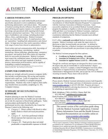 medical assistant skills list