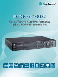 Everfocus ECOR264-8D2 Digital video recorders (DVRs)
