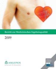 Bericht zur Medizinischen Ergebnisqualität 2009  - Asklepios