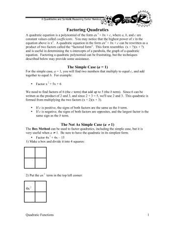 Worksheets Factoring Trinomials A 1 Worksheet Answers factoring quadratic trinomials worksheet polynomials algebra 1 unit 8 lc worksheet