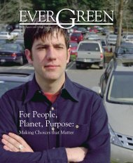 Spring 2005 (PDF) - The Evergreen State College