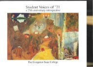 Student Voices of '71 - The Evergreen State College
