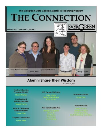 Winter 2013 (PDF) - The Evergreen State College