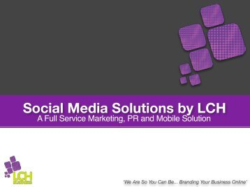 Social Media Solutions by LCH... 1.7 MB - Evernote
