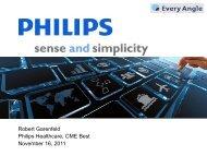 Philips Healthcare presentation - Every Angle