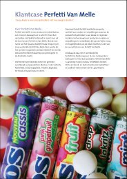 Download the customer case for Perfetti van Melle - Every Angle