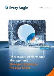 Operational Performance Management Managed ... - Every Angle
