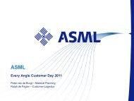 ASML presentation - Every Angle