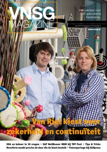 VNSG Magazine: editie mei 2010 - Every Angle
