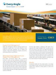 Supply Chain Management What does Every Angle do for your ...