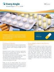 Every Angle The Pharma Industry Every Angle's value to the Pharma ...