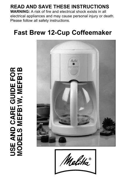 Fast Brew 12 Cup Coffeemaker Everything Kitchens