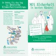 Patienten- und Elternleitfaden - Asklepios Kinderklinik Sankt Augustin