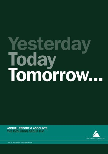 Annual Report for the year ended 31 December 2008