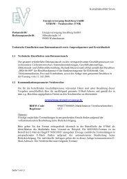 Kontaktdatenblatt Strom - bei der Energieversorgung Inselsberg ...