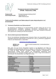 Technischer Anhang zur EDI-Vereinbarung Strom neu ...