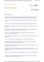 Seite 1 von 19 Gallensteine Referenzen [evidence.de ...