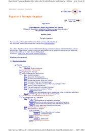 Hypertonie Therapie Haupttext - Wissensnetzwerk evidence.de