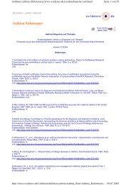 Seite 1 von 59 Asthma Leitlinie: Referenzen [www.evidence.de ...