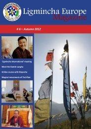 Ligmincha Europe Magazine # 6 – Autumn 2012