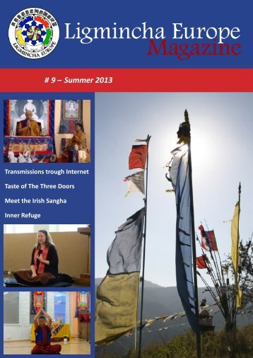 Ligmincha Europe Magazine # 9 – Summer 2013