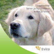 Tavoitteena terve ja hyvinvoiva koira ja kissa - Evira