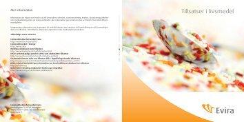 Tillsatser i livsmedel - Evira