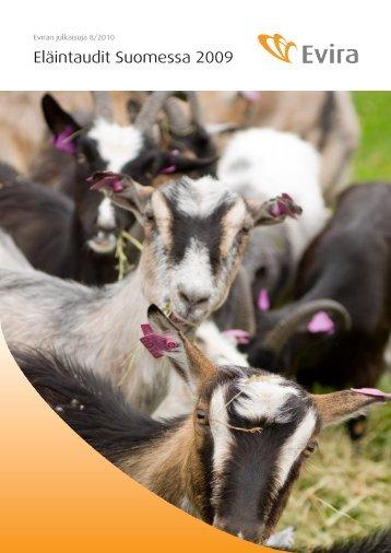 Eläintaudit Suomessa 2009 - Evira
