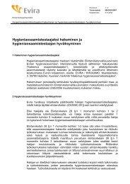 Testaajahaku-ohje 310807 - Evira