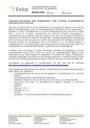 Varudeklarationer för foderämnen som lämnar slakteriernas ... - Evira