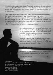 Rüstzeitenplan 2007 bearbeitet.indd - Evangelische Jugend ...