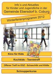 Jugendpflege Ebersdorf b. Coburg
