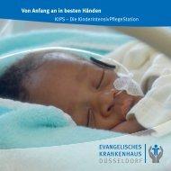 KinderIntensivPflegeStation KIPS - Evangelisches Krankenhaus ...