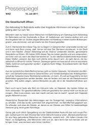 Pressespiegel - Ev. Kliniken Gelsenkirchen