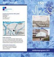 Jubiläumsprogramm 2013 ( PDF , 752 KB ) - Evangelisches ...