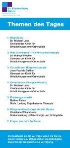Patienten-Informationstag - Evangelisches Krankenhaus Witten - Seite 2