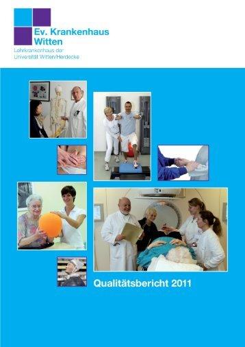 Qualitätsbericht 2011 - Evangelisches Krankenhaus Witten