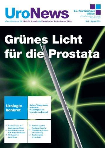 UroNews Nr. 6, August 2011 ( PDF , 759 KB ) - Evangelisches ...