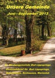 PDF-Datei, ca. 1350 KB - Evangelische Kirche Bad Lippspringe