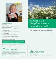 Kamille & Co. Heilpflanzentees - Asklepios Kinderklinik Sankt ...