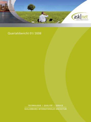 Quartalsbericht 01/2008 (PDF) - Asknet